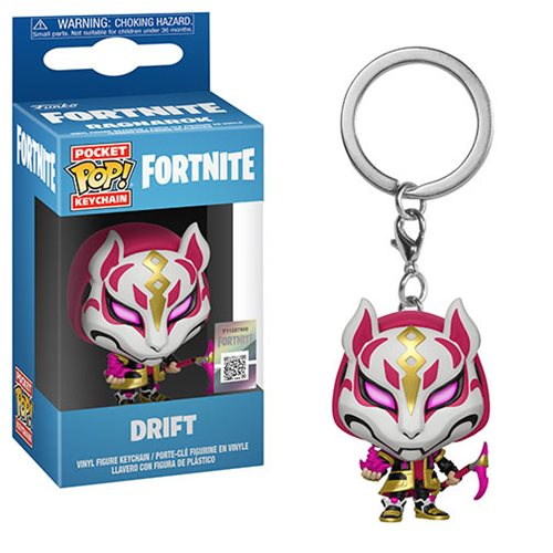 Fortnite Drift Pocket Pop! Key Chain