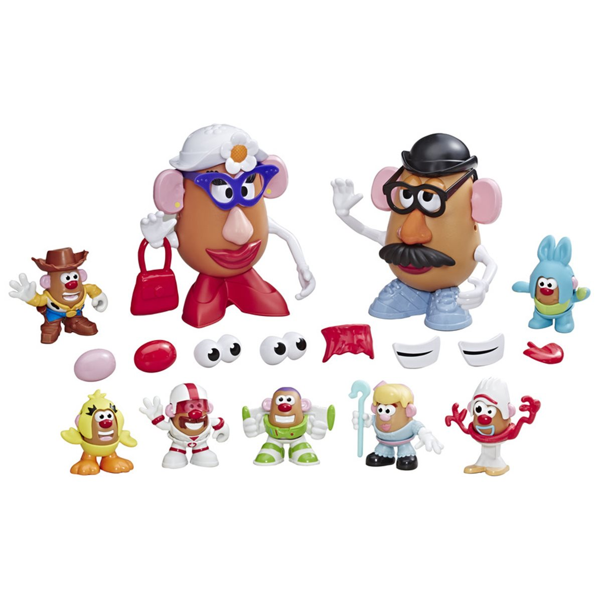 Toy Story 4 Andys Playroom Mr And Mrs Potato Head Pack