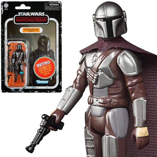 Star Wars Retro Collection Mandalorian Beskar Action Figure