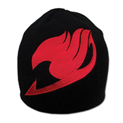 Fairy Tale Logo Black Beanie Hat