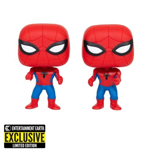 Spider-Man Imposter Pop! Vinyl Figure 2-Pack – Entertainment Earth Exclusive