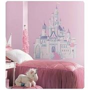 Disney Princess Castle Peel and Stick Giant Wall Applique