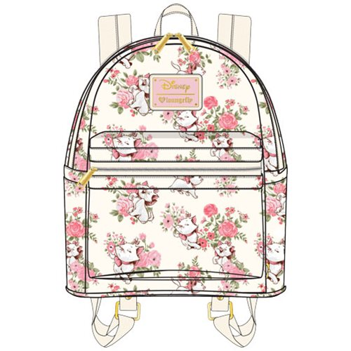 The Aristocats Marie Floral Print Mini Backpack