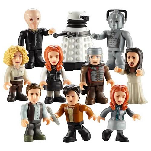 Doctor Who Character Building Figure Series 2 Display Box