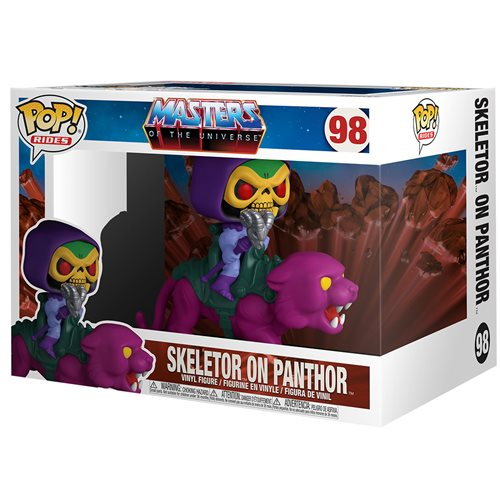 Masters of the Universe Skeletor on Panthor Pop! Ride