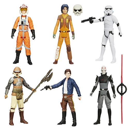 Star Wars Saga Legends Action Figures Wave 6 Set