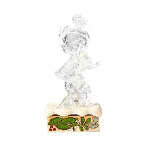 Disney Traditions Ice Bright Minnie Mouse Illuminated Statue by Jim Shore