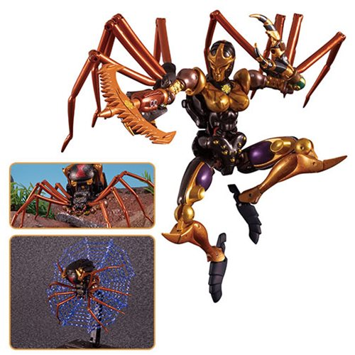 Transformers Masterpiece Edition MP-46 Beast Wars Blackarachnia (Blackwidow)