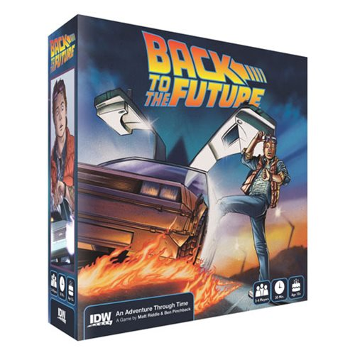 Back to the Future An Adventure Through Time Game