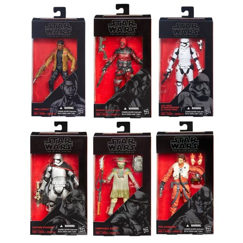 Star Wars: The Force Awakens The Black Series 6-Inch Action Figures Wave 2 Case