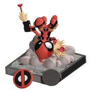Deadpool Scottie Young Finders Keypers Statuette, Not Mint
