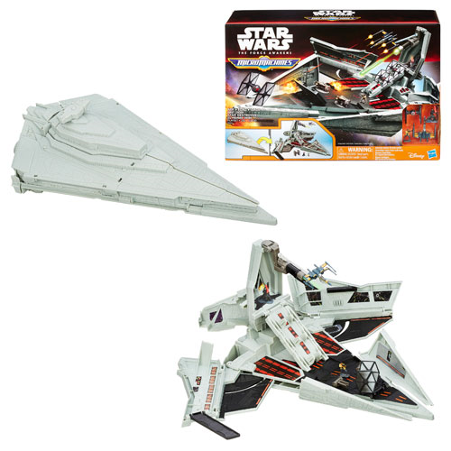 Star Wars: The Force Awakens MicroMachines First Order Star Destroyer Playset