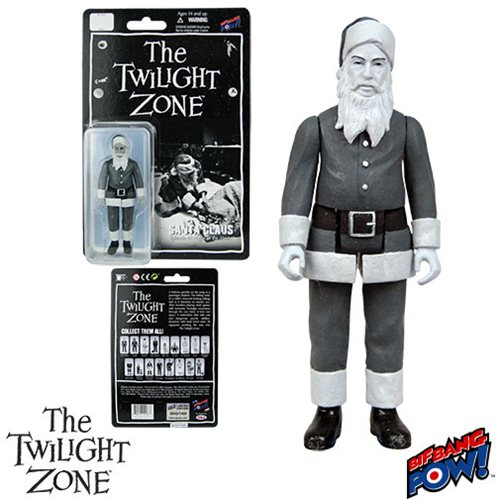 The Twilight Zone The Night of the Meek Santa Claus 3 3/4-Inch Action Figure Series 2