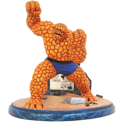 Fantastic Four Marvel Comic Premier Collection The Thing Resin Statue