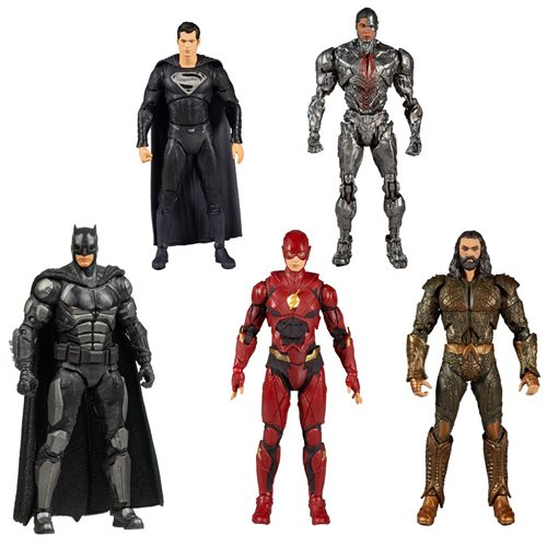 DC Zack Snyder Justice League 7-Inch Action Figure Case of 6