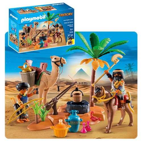 Playmobil 9166 History Tomb Raiders' Camp