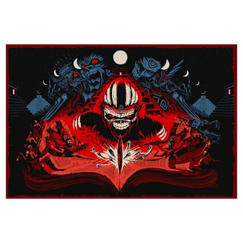 Iron Maiden Book of Souls by Adam Ford Silk Screen Art Print
