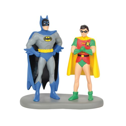 DC Comics Village Batman and Robin Statue