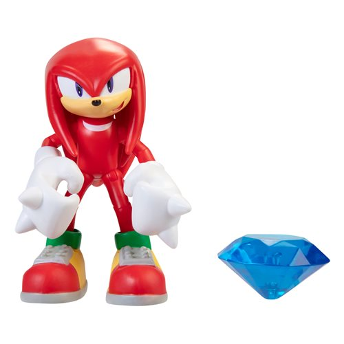 Sonic the Hedgehog 4-Inch Action Figures with Accessory Wave 4 Case