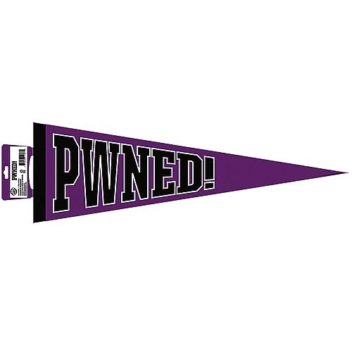 PWNED (Owned) Pennant