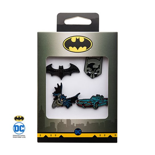 Batman 4-Pack Enamel Pin Set