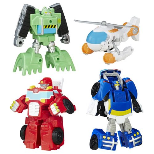 Transformers Rescue Bots Griffin Rock Rescue Team Set