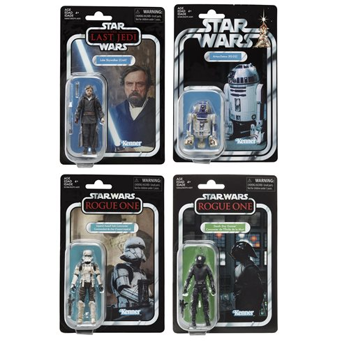 Star Wars The Vintage Collection Action Figures Wave 7 Set