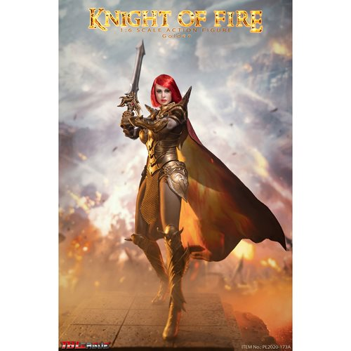 Knight of Fire Golden 1:6 Scale Action Figure