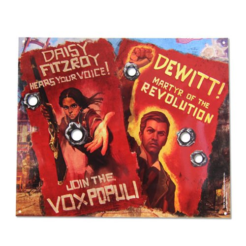 Bioshock Vox Revolution Tin Sign