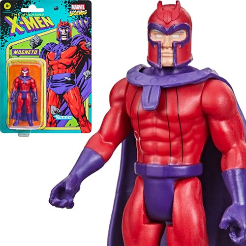 Marvel Legends Retro 375 Collection Magneto  3 3/4-Inch Action Figure