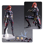 Marvel Universe Black Widow Variant Play Arts Kai Action Figure