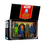 Star Wars Vintage Action Figure Cantina Adventure Boxed Set Pins - Exclusive