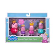 Peppa Pig Royal Family Action Figures 4-Pack