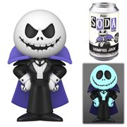 The Nightmare Before Christmas Vampire Jack Vinyl Soda Figure
