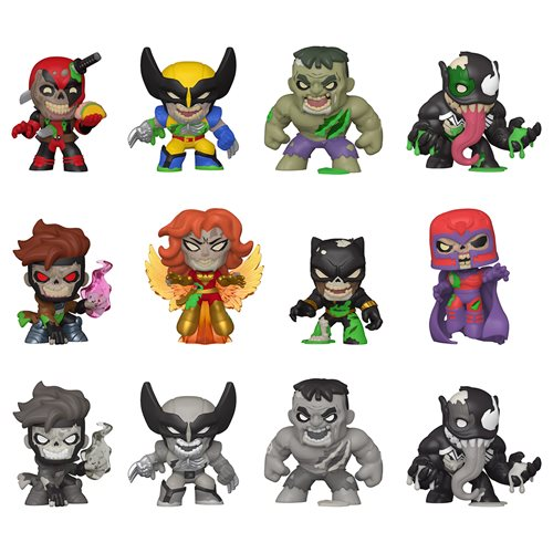 Marvel Zombies Mystery Minis Mini-Figure Display Case