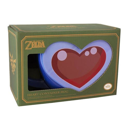 Legend of Zelda Heart Container Mug