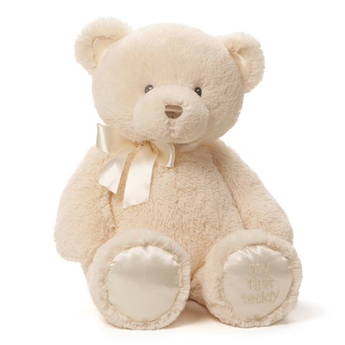 My 1st Teddy Bear Cream 18-Inch Plush