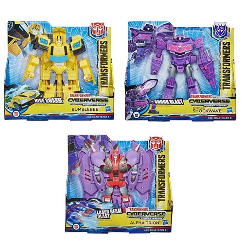Transformers Cyberverse Ultra Wave 4 Case