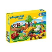 Playmobil 6770 1.2.3 Countryside Playset