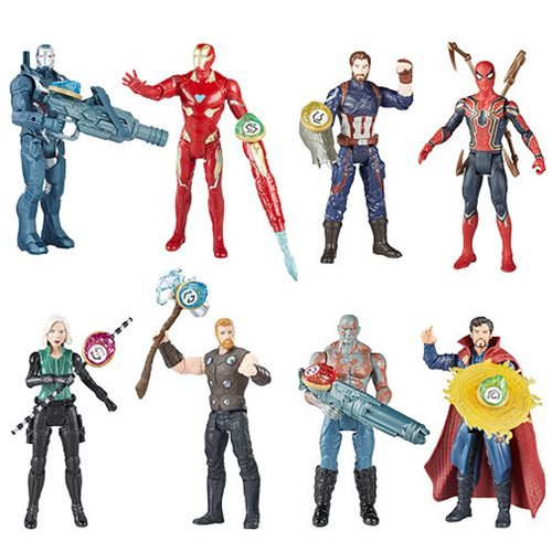 Avengers Infinity War 6-Inch Figures Stones Accessory Wave 3