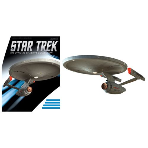 Star Trek Starships Phase II Enterprise Vehicle with Bonus Magazine #5