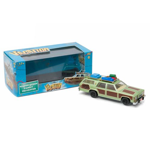 National Lampoon's Vacation 1979 Family Truckster Wagon Queen Honky Lips Version 1:43 Scale Die-Cast Metal Vehicle