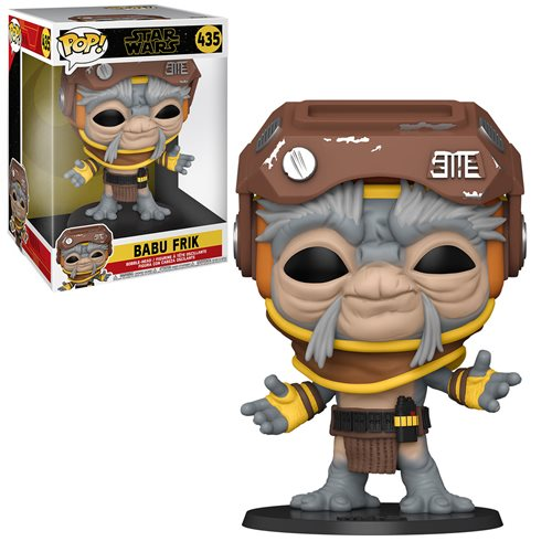 Star Wars: The Rise of Skywalker Babu Frik 10-Inch Pop! Vinyl Figure