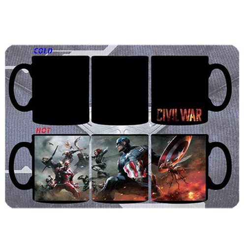 Captain America: Civil War Battle 11 oz. Heat Change Mug