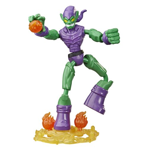 Spider-Man Bend and Flex Green Goblin Action Figure