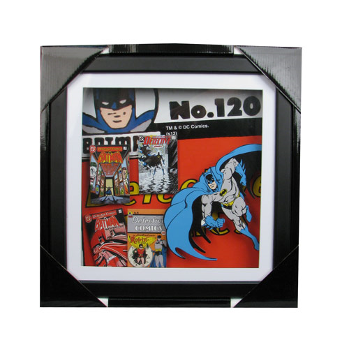 Batman Wood Shadow Box, Not Mint