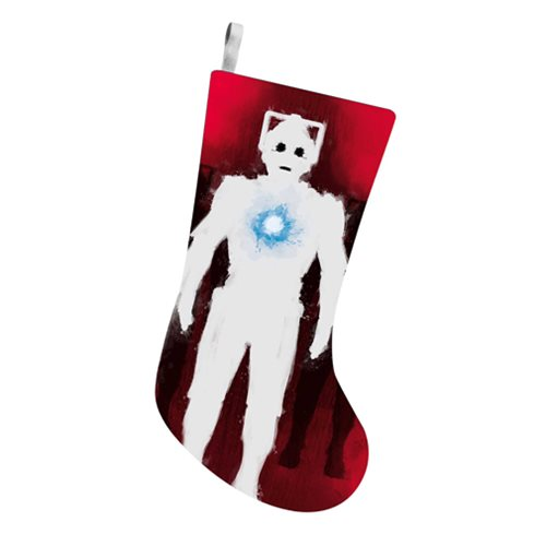 Doctor Who Cyberman 19-Inch Printed Stocking