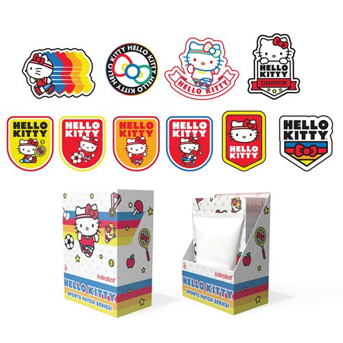 Hello Kitty x Sports Patches Random 6-Pack