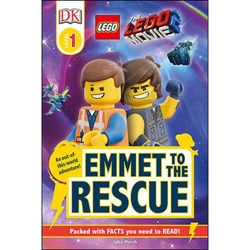 The LEGO Movie 2 Emmet to the Rescue DK Readers 1 Hardcover Book