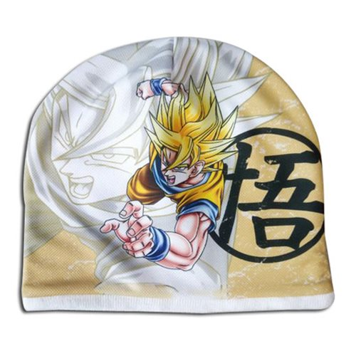 Dragon Ball Z Super Saiyan Goku Fleece Beanie Hat